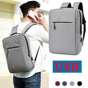 Backpack Men's And Women's Travel Business Trip Laptop USB Charging Interface Outdoor Bag Daypacks Male Leisure Large Capacity
