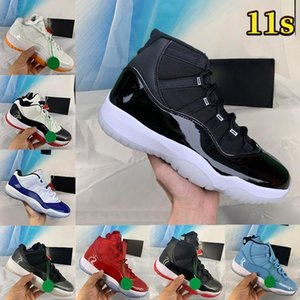 2021 11 11s mens Shoes 25th Anniversary low legend University blue white bred concord pantone cap and gown men women sneakers trainers