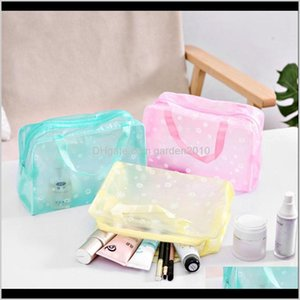 Cosmetic Storage Bag Waterproof Makeup Pouch Pvc Transparent Organizer Compression Travelling Bath Bags 8Kwuh 7Veqm