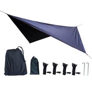 3.6 * 2,9 m Ombretto Sole Sail Outdoor Square Garden Garden Patio Ripulatori impermeabili Tenda da sole Portable Camping Escursionismo Tarps Tent Tenda Ultralight Tende e