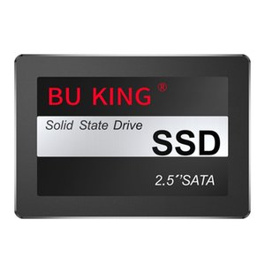 BU KING 2.5-Inch SSD SATA3.0 Built-In Solid State Drive Suitable for Desktop Laptop General Solid State Drive Black