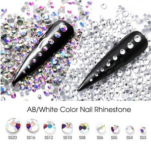 1440pcs lot 3D Crystal Strass Hotfix Rhinestone Iron On Nails Decoration Garment Flatback Glass Stone Hot Fix DIY Accessories