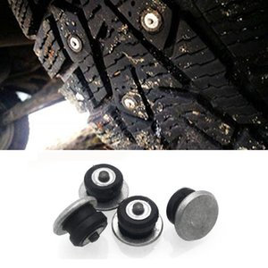 Winter Tire Spikes Car Tire Screws Studs Snow Chians Ice Stud Carbide Studs for Auto Car SUV ATV Motorcycle Truck 12-8-2