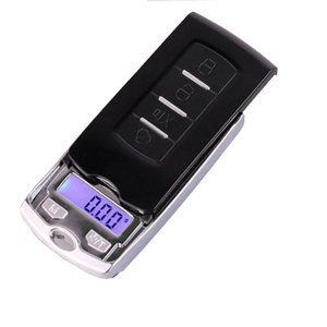 Mini Precision Digital Scale For Silver Coin Gold Diamond Jewelry Weight Balance Car Key Design 0.01g Weighing Scales