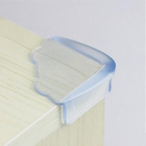 Corner&Edge Cushions Baby Safety Silicone Table Protector Kids Corner Collision Protection Glass Crash Guards Child Edge Anti-Collision