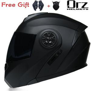Motorcycle Helmets DOT Approved Full Face Safety Helmet Casco Flip Up Modular Double Lens Capacete Casque Moto
