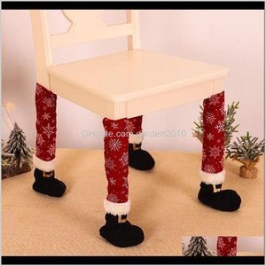 Decorations Festive Party Supplies & Garden Drop Delivery Merry Christmas Ornaments Decoraion For Xmas Dinner Table Leg Chair Foot Cover Happ