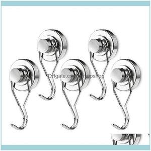 Hooks Rails Storage Housekeeping Organization Home & Garden Arrival-Magnetic Hooks,66Lb Rotatable Swing Swivel Heavy Duty Neodymium Rare Ear