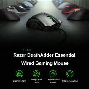 Проводная игровая мышь для мыши Deathodder Razer MICE V2 Основные 6400DPI Эргономичный Оптический датчик профессионально-класса для компьютерного ноутбука