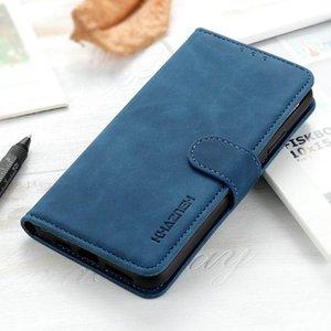 Realme 7 Pro 5 I 6S 7i Funda de cuero retro Flip Funda para OPPO X7 6 Wallet Funda ME REAL ME Q2 5S 5i 6i Casos de teléfono celular