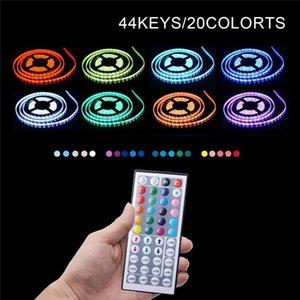 Strips 1M 2M 3M 4M 5M 44 Key Usb Luces Led Strip Tv Backlight RGB Light Waterproof 5v SMD Neon Lights For HDTV PC Room Lighting