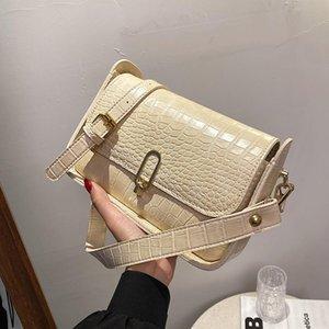 Umhängetaschen Nischen Design Senior Bag Weibliche 2021 Mode Crossbody Square Unterarm Dual-Use-Breite: 24cm
