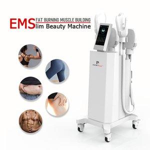 Hi emt EMSlim slimming EM body shaping machine electric ems muscle hiemt stimulator 4 handle