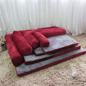 Ящики Pet Nest Dog Диван моющийся питомник большие и небольшие подушки кровати