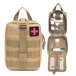 Molle Tactical Pronto soccorso Kit Pacchetti Borsa medica Esercito Esercito Outdoor Caccia Car Emergency Camping Survival Borsa