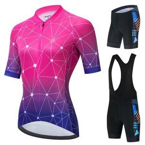 Jersey cycliste pour femme Vendull costume de vêtements de sport à manches courtes Vélo Vélo Jumpsuit Macaquinho Ciclismo Feminino Racing Ensembles