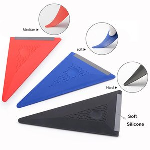 Car Wrap Vinyl Film Installing Squeegee Soft Edge Window Foils Tinting Sticker Tool Scraper Carbon Fiber Wrapping Tools Sunshade