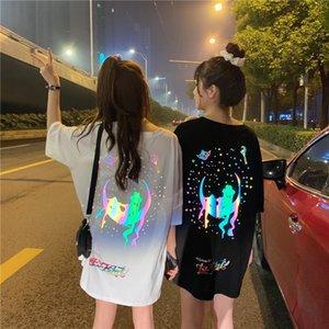 2020 Summer New Arrival Women T Shirt Reflective Sailor Moon loose short sleeve