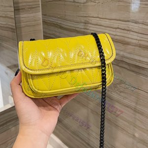 Sheepskin Classic Messenger Bags Luxurys Designers Bag 2021 women Top Quality Ladies Chains Shoulder Handbag Crossbody handbags Multicolor Coins card Wallet