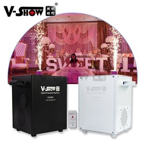 V-Show 2pcs 650W With Carton Packaging Stage Lighting Mini Fire Spark Machine For Wedding Show Disco Effect DMX Remote Control