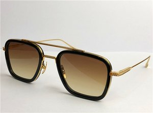 New fashion design man sunglasses 006 square simple frames vintage popular style uv 400 protective outdoor top eyewear