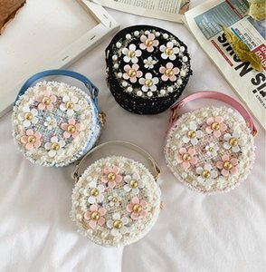 Women Mini Handbags Tote Cute Girls Princess Messenger Bag Flower Baby Girl Party Purses Shoulder Bags Lady Satchels Gift