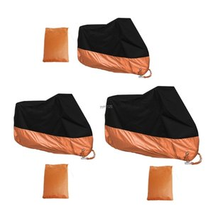 Orange XXXL Motorcycle Cover Waterproof For Harley Davidson Street Glide wholesale