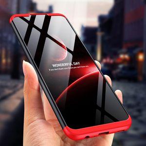 Coques GKK 3in1 Couvre-protecteur Hard PC Accessoire mobile pour Samsung Galaxy A52 A72 A42 A32 A12 S21 S20 Note2020