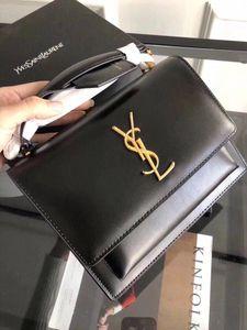 SAINT LAURENT Luxury Designer top quality Shoulder Bag tote woc Genuine Leather YSL fashion Women's men Crossbody Bags handbags black Original Wallet Handbag Purses