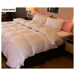 Comforters Sets Supplies Textiles Home & Garden Drop Delivery 2021 Wholesale- Duvet Quilt Blanket Comforter 95Percent Down From European King