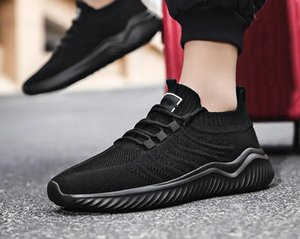 summer net shoes men casual breathable mesh solid white Black Accessories sports large size hard court walking