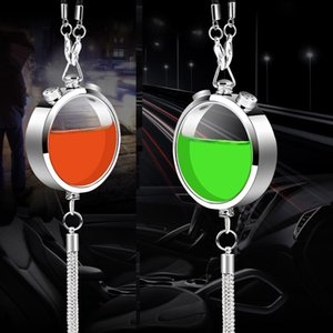Car Interior Jewelry Ornaments Air Freshener Perfume Diffuser Hanging Pendants DIY Essential Oils Diffusers pendant Kit Hone Decoration