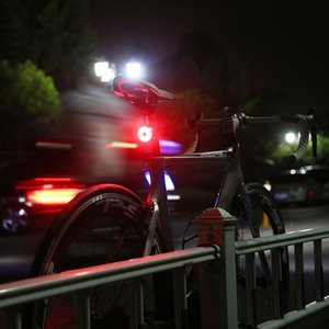 Multi Lighting Modes Bicycle Light USB Charge Led Bike Light Flash Tail Rear Bicycle Lights 1519 2Z