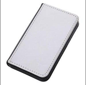 10pcs Sublimation DIY White Blank Cover Business card folder Holder