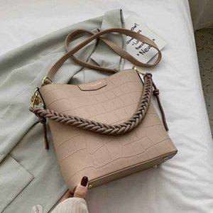 Women's shoulder bag, alligator bracelet, large capacity handbag. J0525