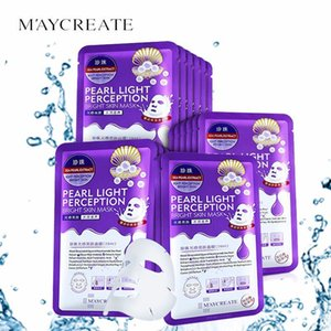 Pearl Hydrating Moisturizing Facial Mask Sheet Deep Clean Face Skin Care Oil Control Masks 20pcs box