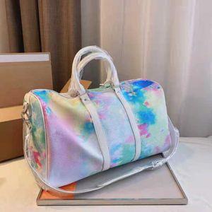 جودة عالية سوبر الألياف حقائب السفر سعة كبيرة مصمم حقيبة يد ماركة فاخرة حقيبة الكتف الرجال والنساء التسوق محفظة
