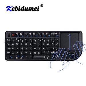 Keyboards Kebidumei 2.4G Mini Wireless With Battery Air Mouse Handheld Touchpad For Gaming Phone Smart TV Box Android