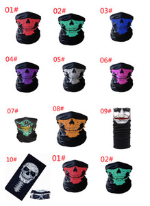 Magic Turban Riding Mask Outdoor Sports Warm Halloween Multi-functional Variable Skull Seamless Outdoors Cycling Protective Gear