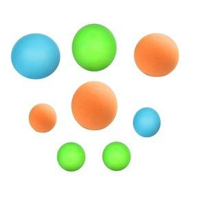 4 pz palle appiccicose bastone luminoso stick palla da parete tiro soffitto stress sollievo cattura zucca mini aspirazione bersaglio bambini giocattoli per festeggiare
