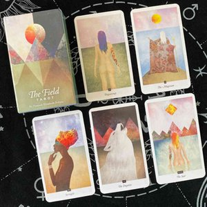 New The Field 78 Oracles Cards Divination Fate Beginners Tarot Deck Board Game for Adult sYZ9I