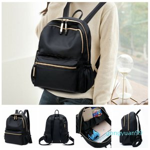 Fashion New Women Girls Anti theft Waterproof Mini Oxford Backpack Rucksack School Bag Travel Bagpack Double Shoulder Bags Black