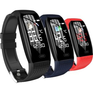Sport Smart Wristbands Watch Men Fitness Healthy Tracker Sports Blood Pressure Heart Rate Monitor Waterproof intelligent Wristband Bracelet For Android Ios phone