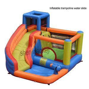 Indoor Small Family Inflatable Trampoline Water Slide Children's Castle Kindergarten Playground Outdoor Floats & Tubes