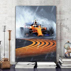 Картины Плакат и принты Ayrton Senna F1 Формула McLaren Мир Чемпион Настенный Художественный Холст Картина Живопись Современная для домашнего Декора