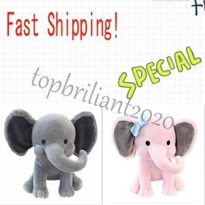 2 цвета детей слона мягкая подушка фаршированные мультфильм животные мягкие куклы игрушки дети спит обратно подушка детей день рождения подарок