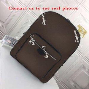 Boş zaman ve iş erkek lüks sırt çantası çift omuz erkek tasarımcı okul çantaları