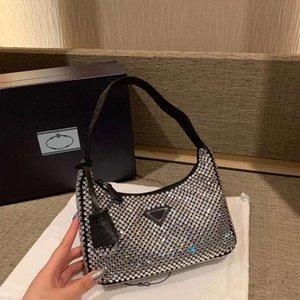 Роскошные топ-дизайнерские дамы высокого качества кожаные моды подмышечное редактирование 2000 ручной кошельки кошельки сумки сумки женщин