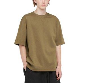 Mens T Shirtss High Quality Men Plain T-shirt Printing 100% Cotton Casual Tee Blank thick 220g 260g men Tshirts
