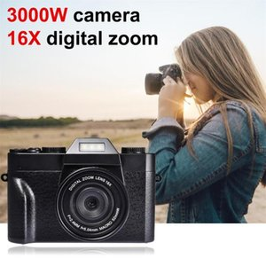 Digital Camera HD IPS Screen Video 30.0MP Portable 16x Kids Zoom Po Supports The External Lens And Mic Cameras
